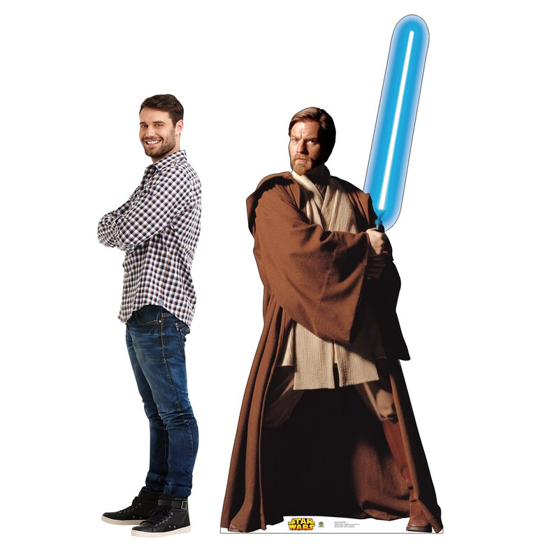 Obi-Wan Kenobi Cardboard Cutout