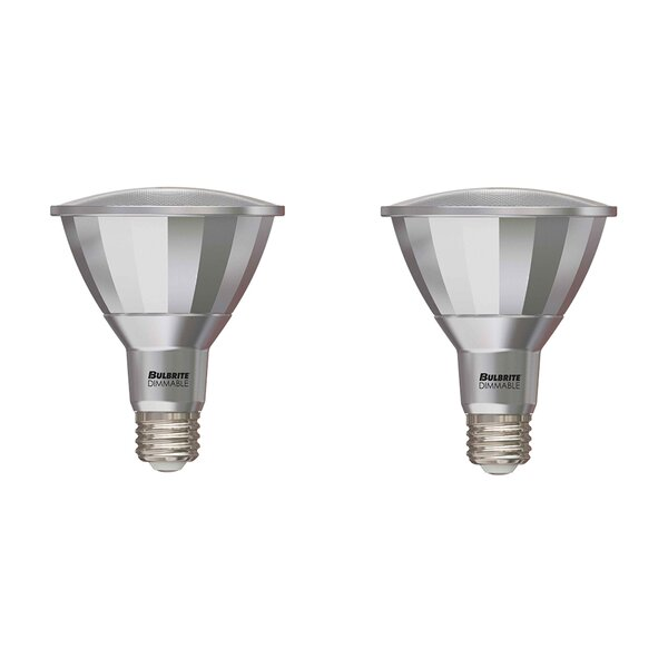 E26 Dimmable LED Spotlight Light Bulb (Set of 2) by Bulbrite Industries