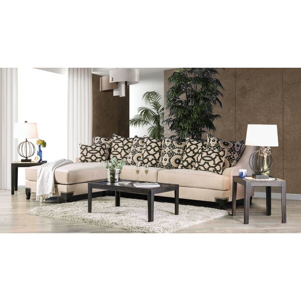Delmer Sectional by House of Hampton