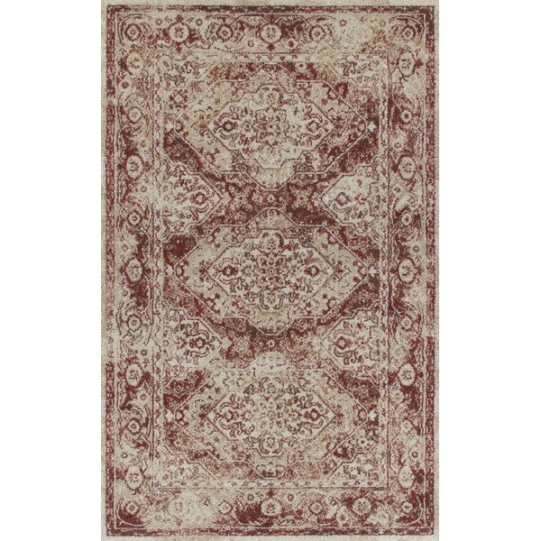 Swainsboro Brown/Beige Area Rug by Bungalow Rose