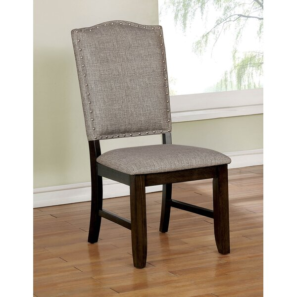 Matterson Wooden Upholstered Dining Chair (Set of 2) by Gracie Oaks