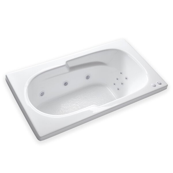 Hygienic Aqua Massage 60 x 32 Whirlpool Bathtub by Carver Tubs