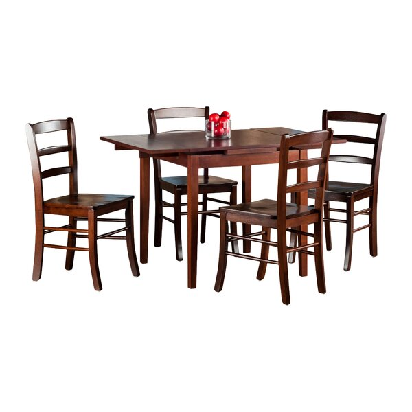 Shaws 5 Piece Extendable Dining Set by Red Barrel Studio Red Barrel Studio