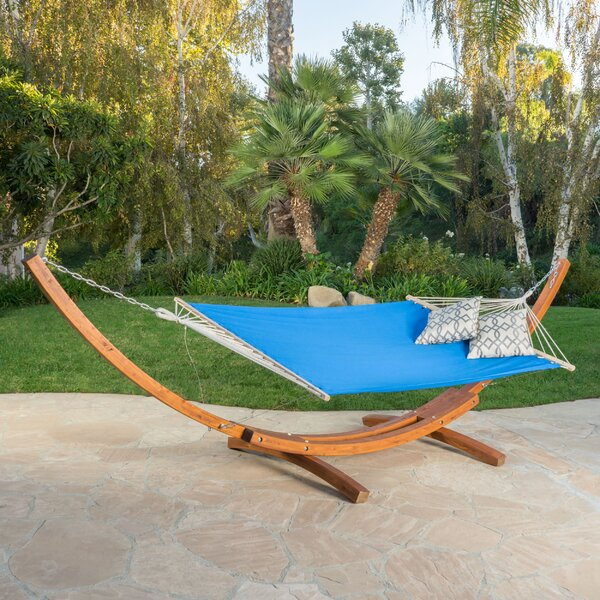 Kouklia Hanging Chaise Lounger with Stand by Bay I