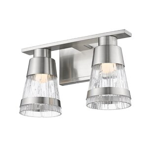 Compare & Buy Jacey 2-Light LED Vanity Light By Breakwater Bay