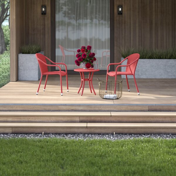 Belton 3 Piece Seating Group by Mercury Row