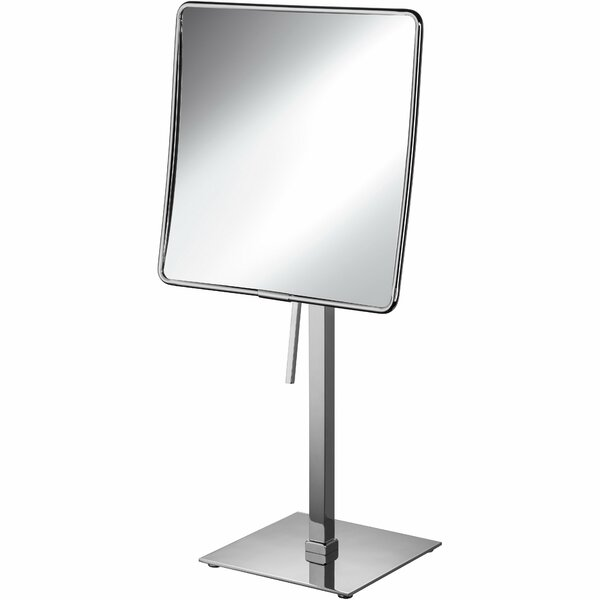 Matchett Square Single-Sided Makeup/Shaving Mirror by Latitude Run