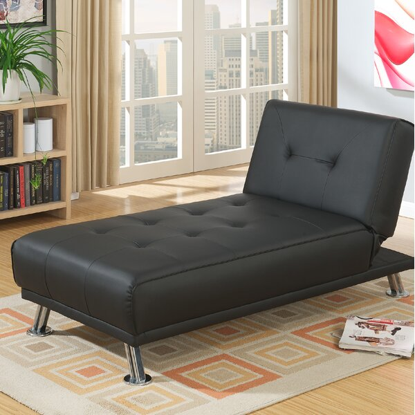 Dansby Adjustable Chaise Lounge by Wrought Studio