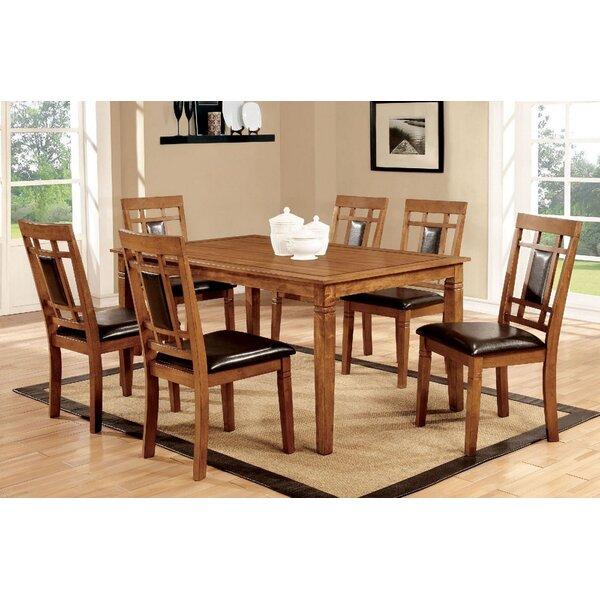Jacey 7 Piece Dining Set by Red Barrel Studio Red Barrel Studio