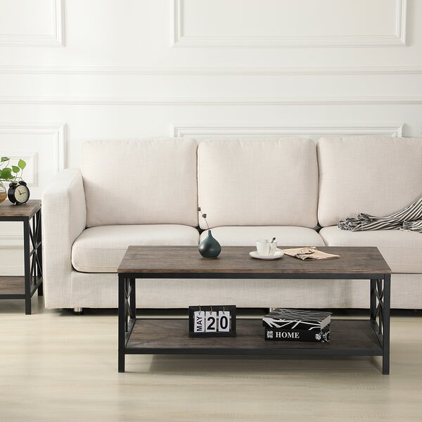 Tamesna Coffee Table With Storage By Gracie Oaks
