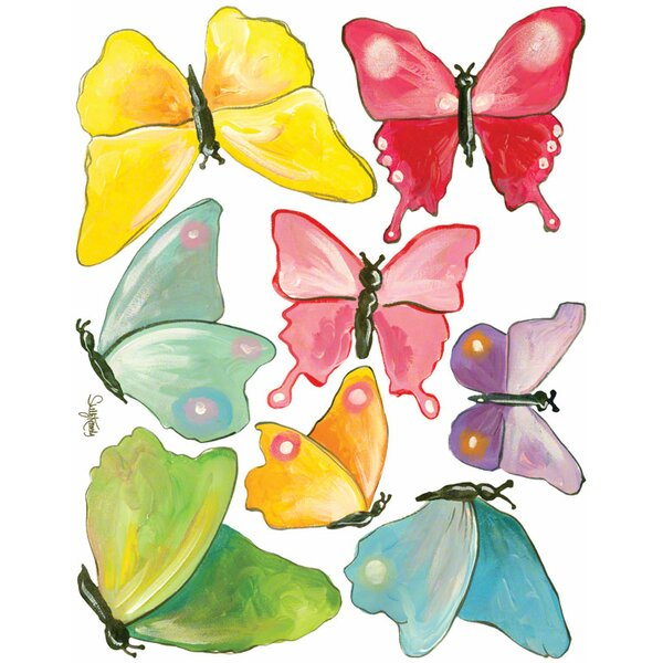 Butterfly Arbor - Small Peel and Place Wall Decal by Oopsy Daisy