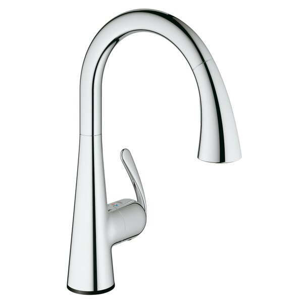 Ladylux Touch Single Handle Kitchen Faucet with SilkMove® by Grohe
