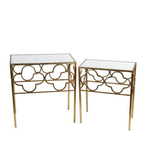 Kramer 2 Piece End Table Set by Rosdorf Park