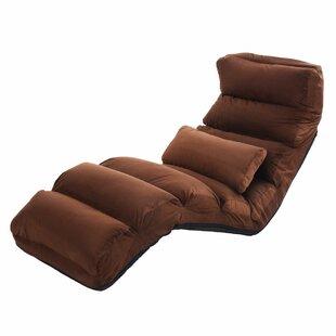 Denchev Folding Lazy Chaise Lounge by Ebern Designs