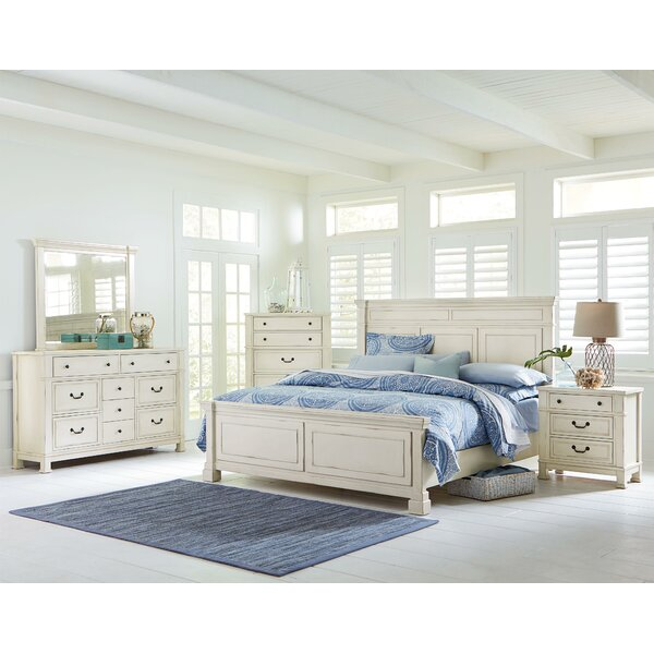 Parfondeval Panel Configurable Wood Bedroom Set by Lark Manor