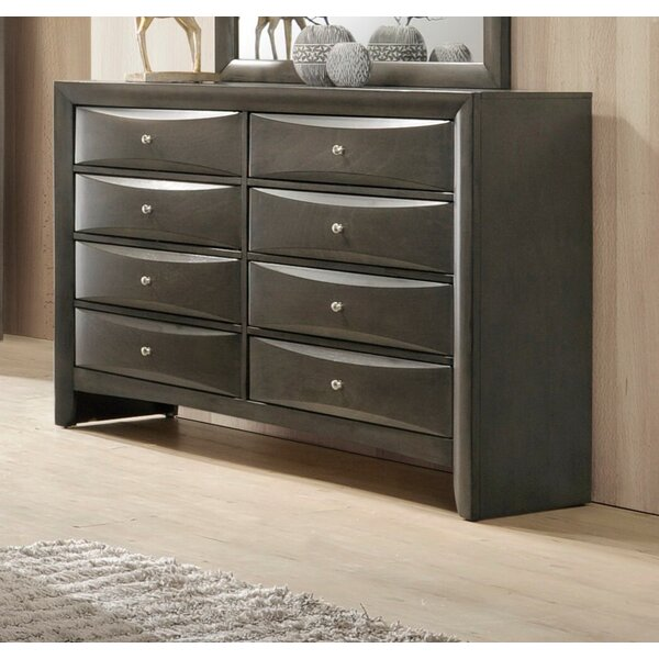 Mulcahey 8 Drawer Double Dresser by Red Barrel Studio