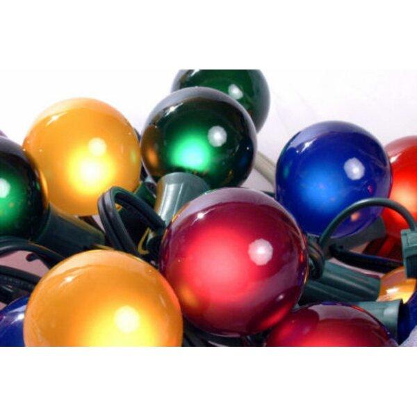 Satin G50 Globe 15 Light String Lighting (Set of 15) by The Holiday Aisle