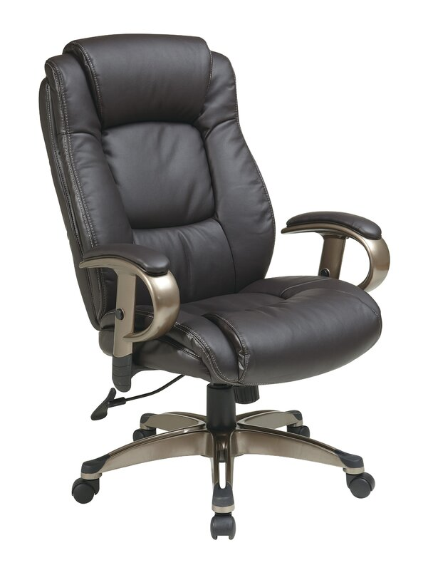 High Back Executive Chair By Office Star Products Sae