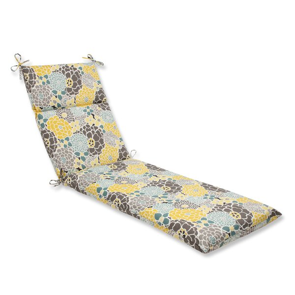 Gillette Outdoor Chaise Lounge Cushion by August Grove