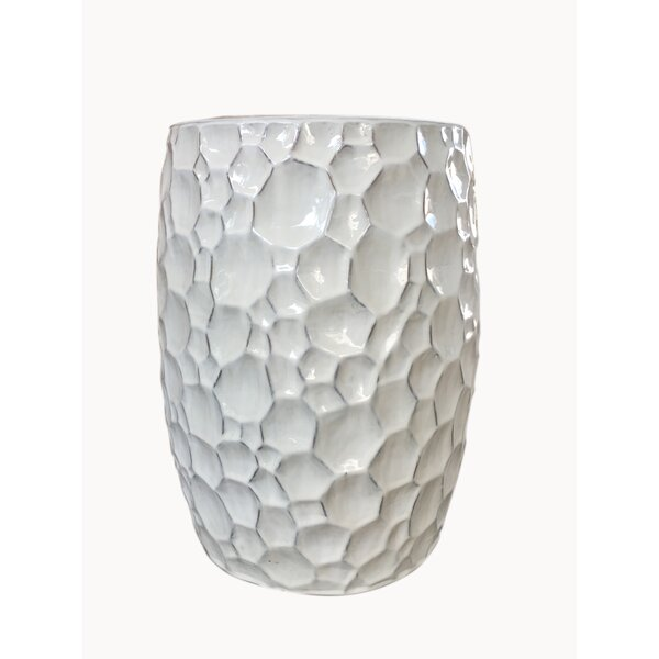 Palazzolo Ceramic Garden Stool by Bungalow Rose
