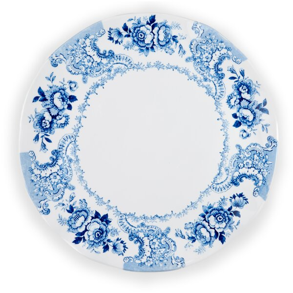 Cambridge Rose Melamine Serving Platter by Q Squared