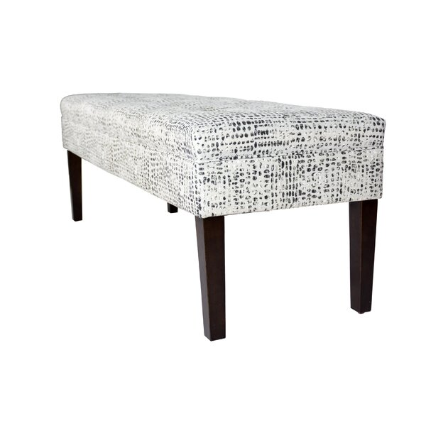 Lehto Upholstered Bench by Wrought Studio