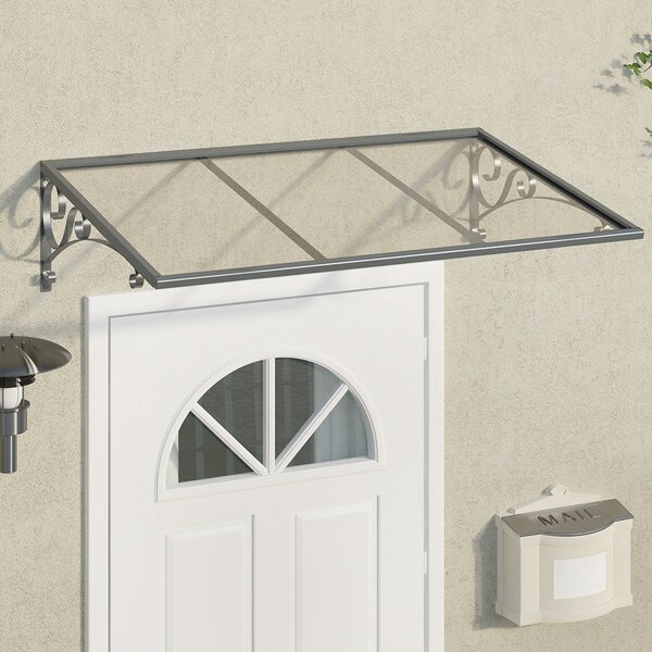 Venus™ 4.5 ft. W x 3 ft. D Door Awning by Palram