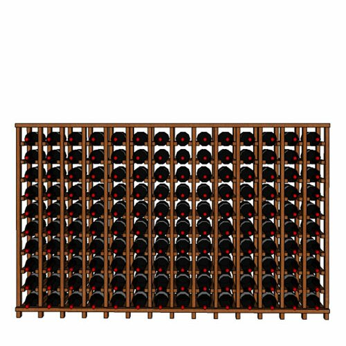 Lurmont Series 140 Bottle Floor Wine Bottle Rack by Rebrilliant Rebrilliant