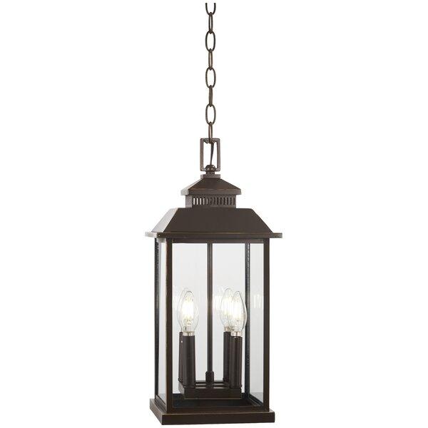 Menahan 4-Light Outdoor Hanging Lantern by Alcott Hill