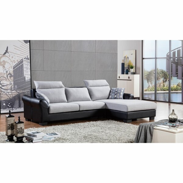 Headland Upholstered Reversible Modular Sectional (Set Of 2) By Orren Ellis Discount