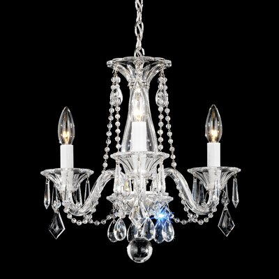 Schonbek new orleans 10 light crystal chandelier reviews wayfair allegro 3 light mini chandelier aloadofball Choice Image