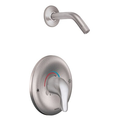Chateau Posi-Temp Shower Faucet Trim with Lever Handle Moen Finish: Chrome -  TL182NHBC