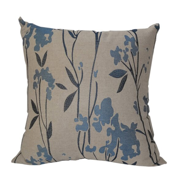 Lewisboro Embroidered Whimsical Throw Pillow by Red Barrel Studio