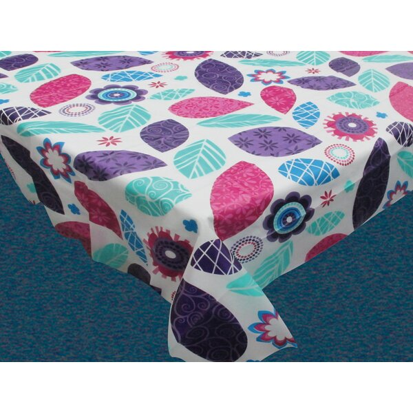 Spring Passion Flannel Backed Tablecloth by Carnation Home Fashions