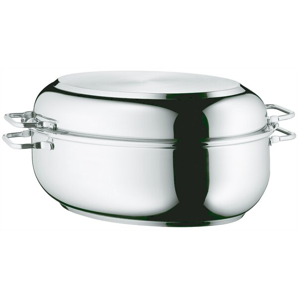Oval Stainless Steel Roasting Pan by WMF Americas
