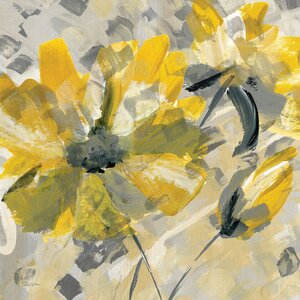 Buttercup I Painting Print on Wrapped Canvas by East Urban Home