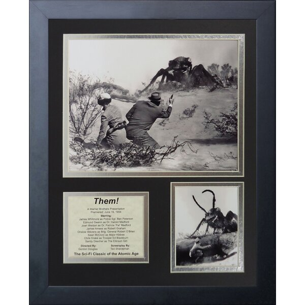 Them! Framed Photographic Print by Legends Never Die