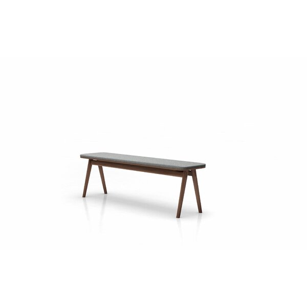 Badini Upholstered Bench by Latitude Run