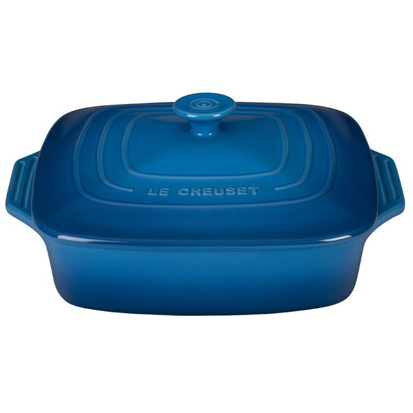 Stoneware Square Covered Casserole by Le Creuset