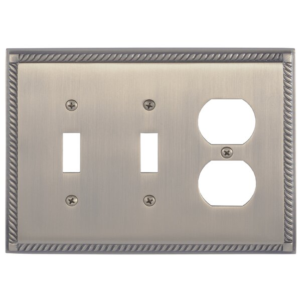 Georgian Outlet Plate by BRASS Accents