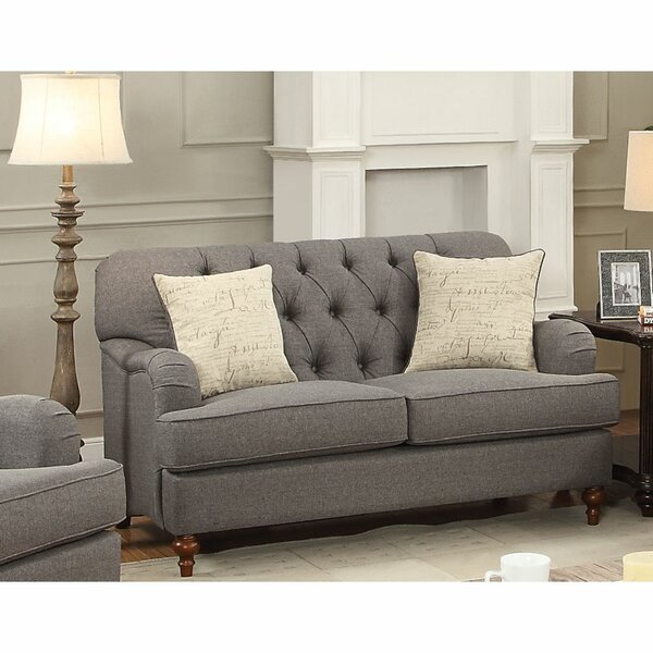 Jaquez 61'' Loveseat by Canora Grey Canora Grey