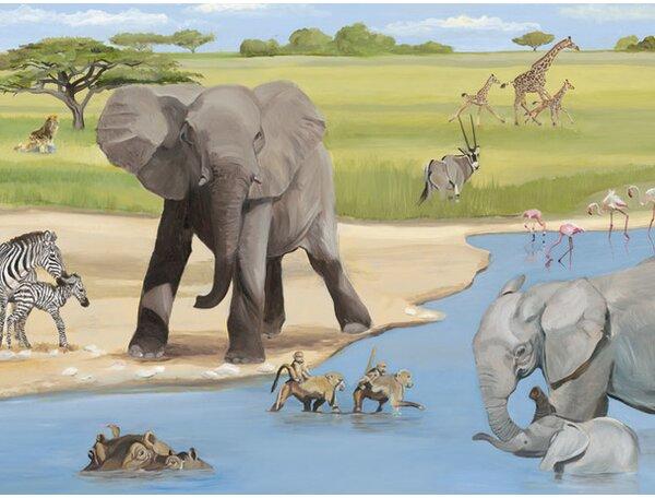 African Safari Canvas Art by Oopsy Daisy