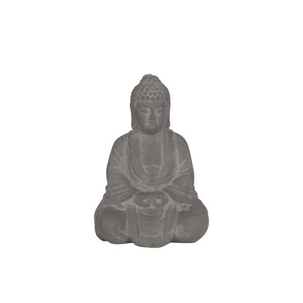 Cohle Meditating Buddha Figurine by World Menagerie