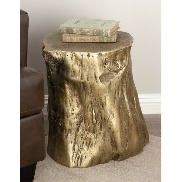 Fiberglass Accent Stool by Cole & Grey