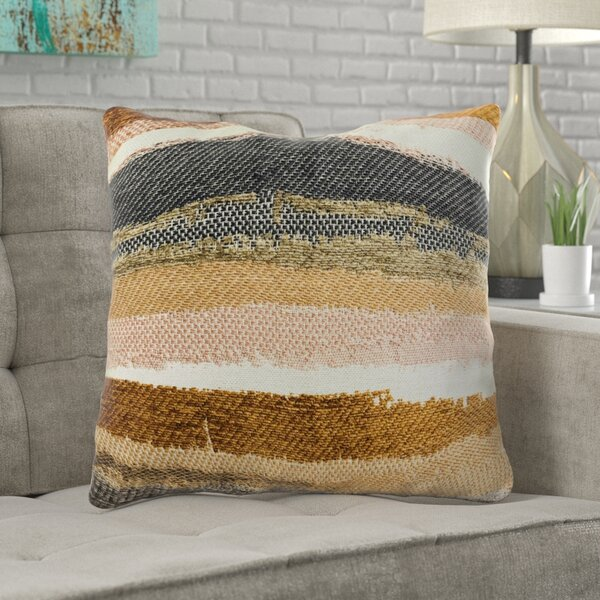 Sylvie Striped Luxury Pillow by Brayden Studio