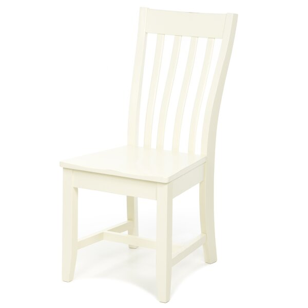 Camille Solid Wood Dining Chair by August Grove