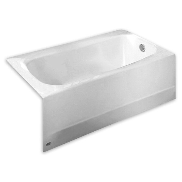 Cambridge 60 x 32 Alcove Soaking Bathtub by Americ