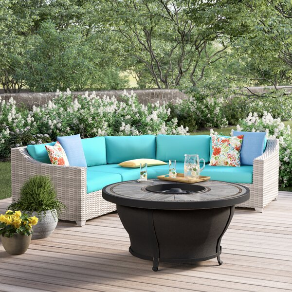 Falmouth 4 Piece Sectional Seating Group with Cushions by Sol 72 Outdoor Sol 72 Outdoor