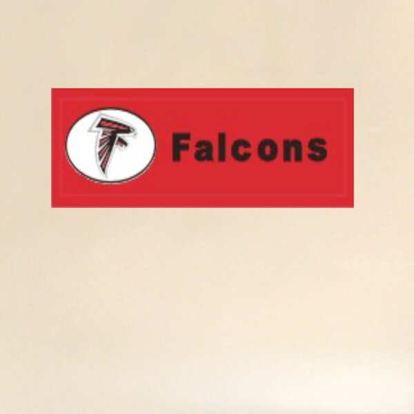 NFL Graphic Art Print by Fan Creations