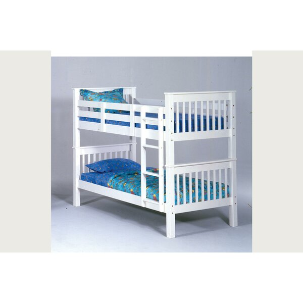 Dasheil Twin Over Twin Bunk Bed by Harriet Bee